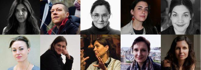 Mujeres presentes en el mundo del cine