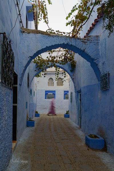 chefchauen expo marruecos ciudad azul
