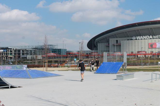jardines wanda skate park