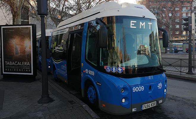 líneas cero madrid centro autobús gratuito