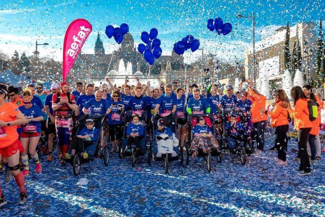 ataxia telangiectasia maraton sevilla