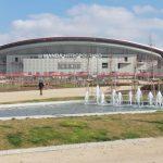 El jardín del Wanda Metropolitano, premiado pese a su escaso uso
