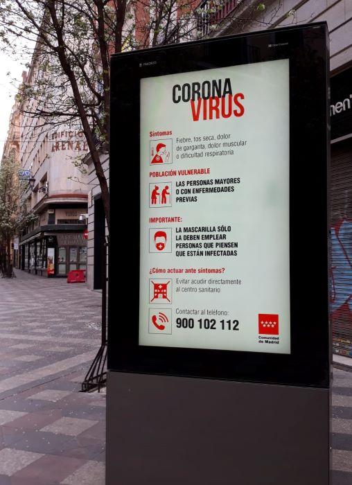 coronavirus cartel calle callao