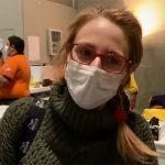 Graciela, una de las primeras pacientes de coronavirus que recibe el alta en Ifema