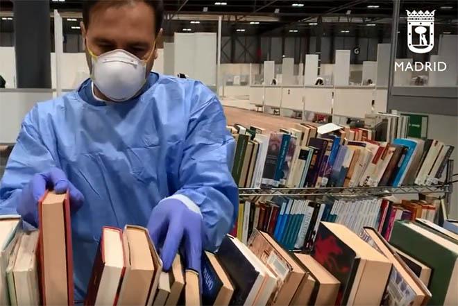 biblioteca hospital ifema