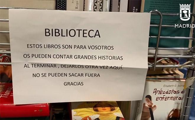 biblioteca resistire ifema coronavirus