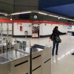 Control de aforo en todas las estaciones de Metro