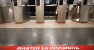 señalización metro y autobús