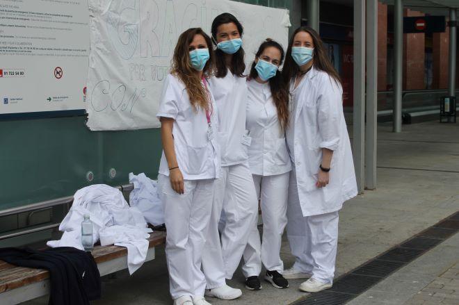 ifema clausura grupo enfermeras
