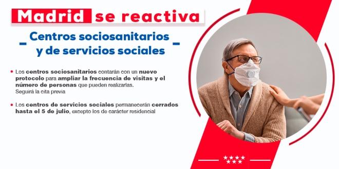 nueva normalidad Madrid servicios sociales