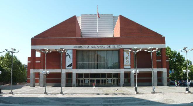 auditorio nacional de música madrid