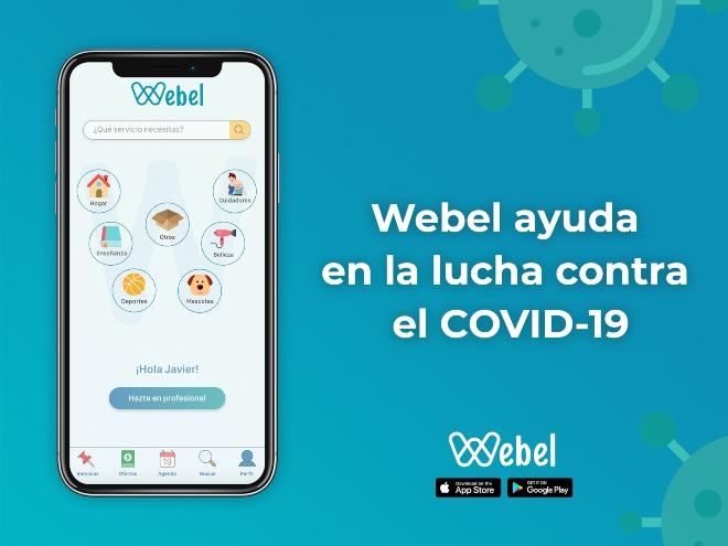Webel app servicios a domicilio