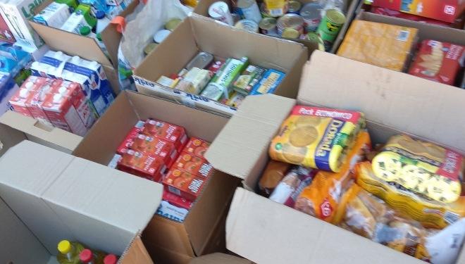 Donaciones colegios San Blas