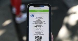 autobuses pago QR billetes sencillos