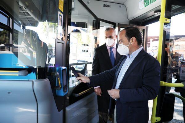 autobuses pago QR emt