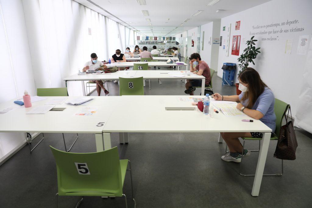 se reabren las salas de estudio