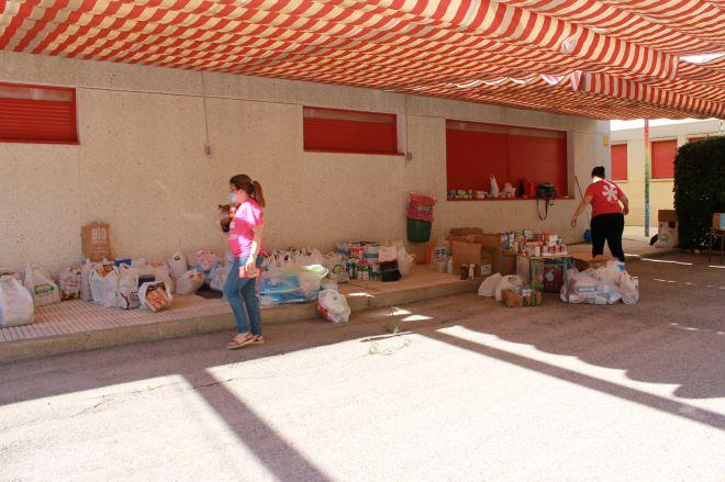 solidaridad san blas covid 19 recogida alimentos