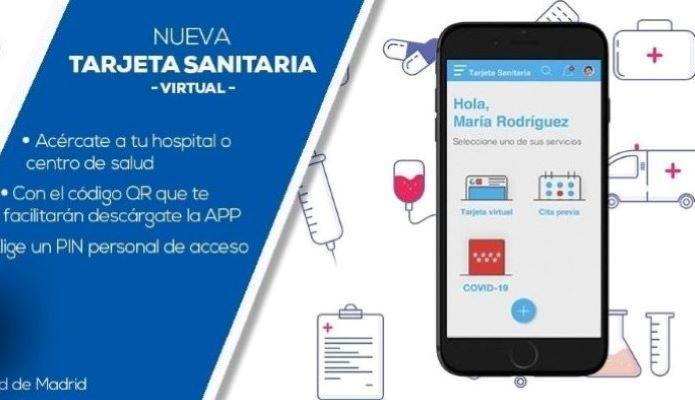 tarjeta virtual sanitaria