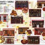 Los 12 restaurantes más históricos de Madrid, en un mapa ilustrado