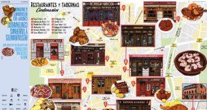 restaurantes históricos madrid en un mapa cultural