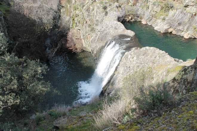 ruta cascada aljibe cascadas