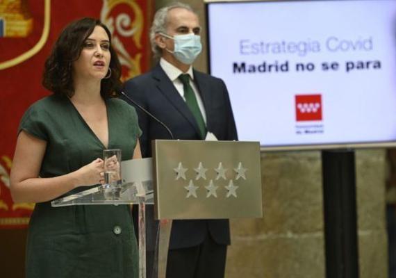 Comunidad de Madrid rastreadores
