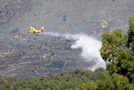 Incendio en Robledo de Chavela