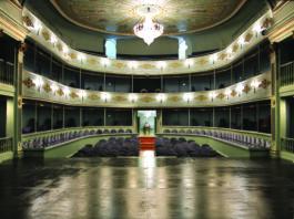 Interior del Real Coliseo Carlos III