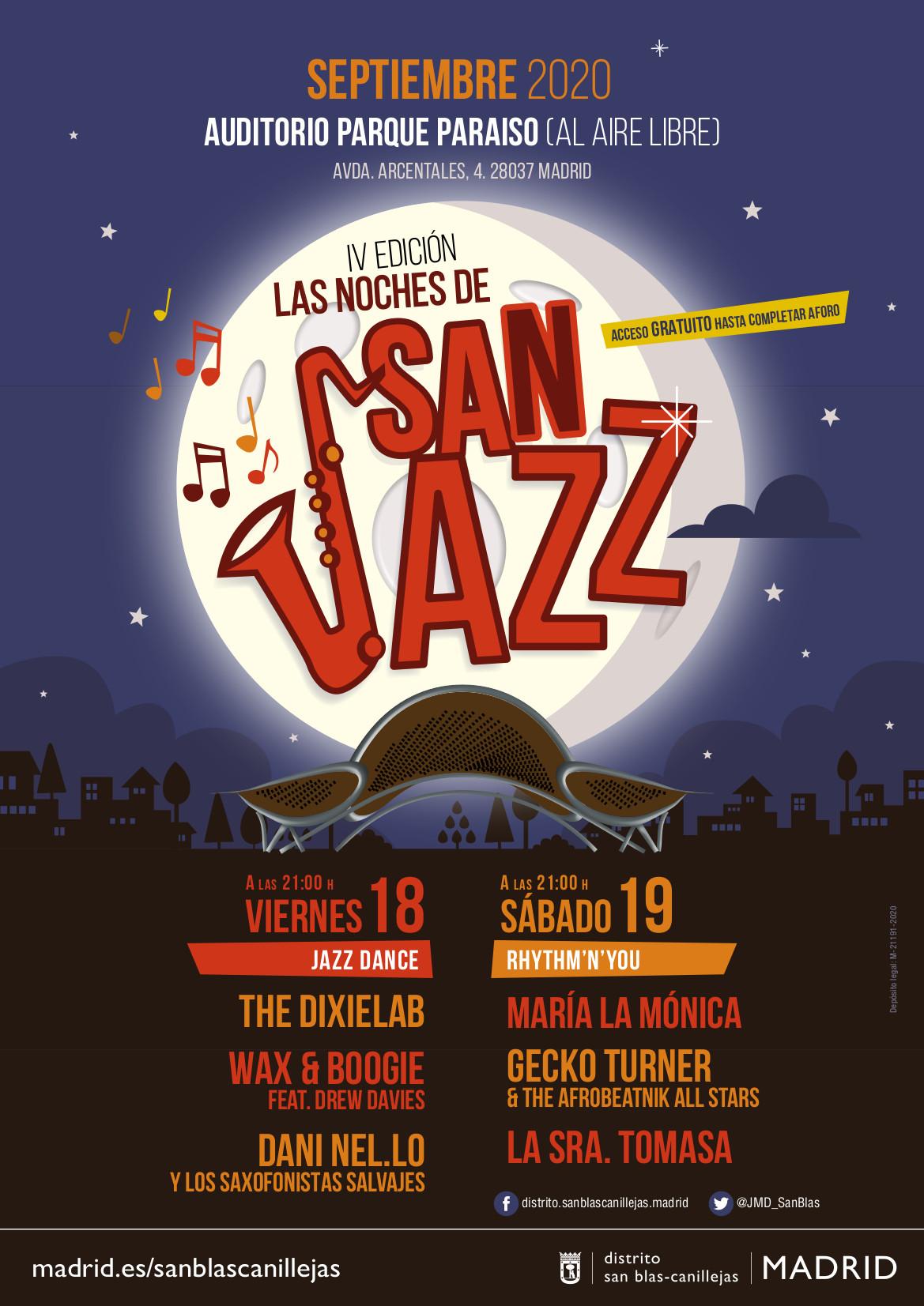 San jazz san blas