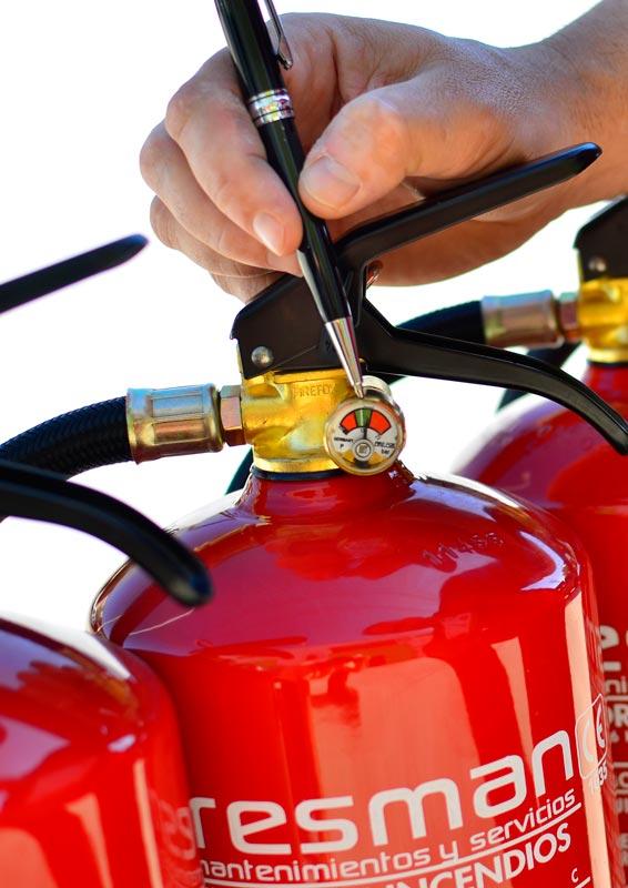 instalación extintores comunidad vecinos