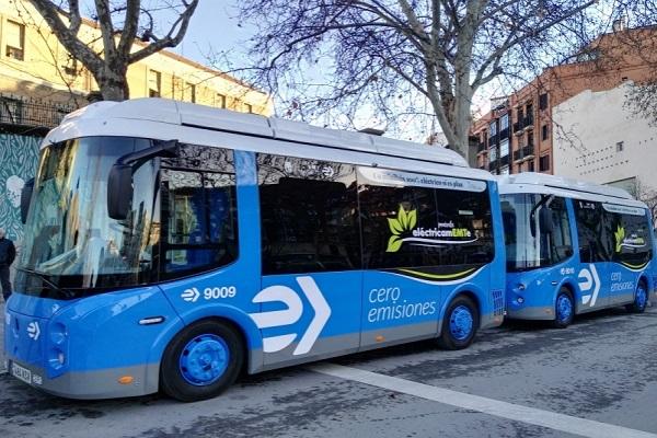 Minibuses cero emisiones