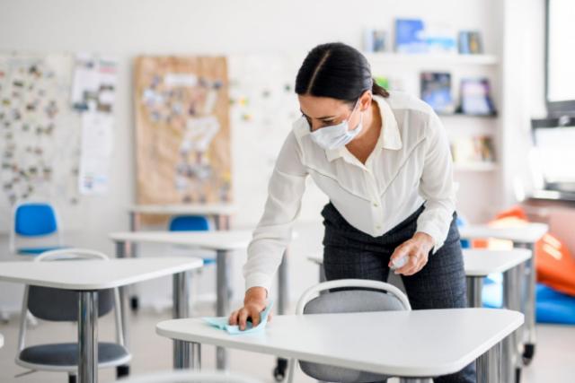 colegios covid aulas prefabricadas