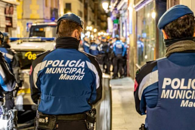 policía municipal madrid