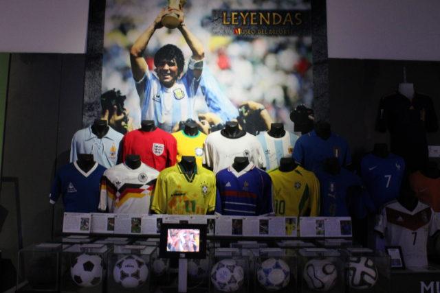 Exposicion leyendas deporte