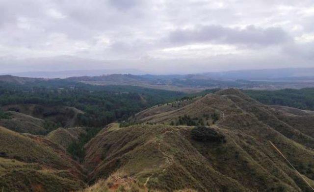 parque cerros vista general alcala henares