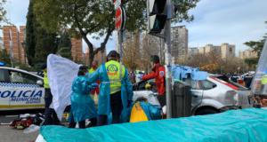 suceso ambulancia turismo atropello