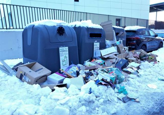 incidencias madrid fravm basuras