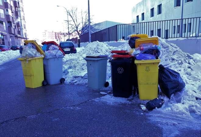 incidencias recogida basuras fravm nieve