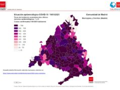 mapa incidencias comunidad madrid 19 enero 2021