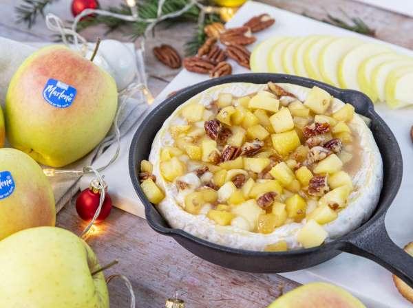 marlene receta brie manzanas caramelizadas
