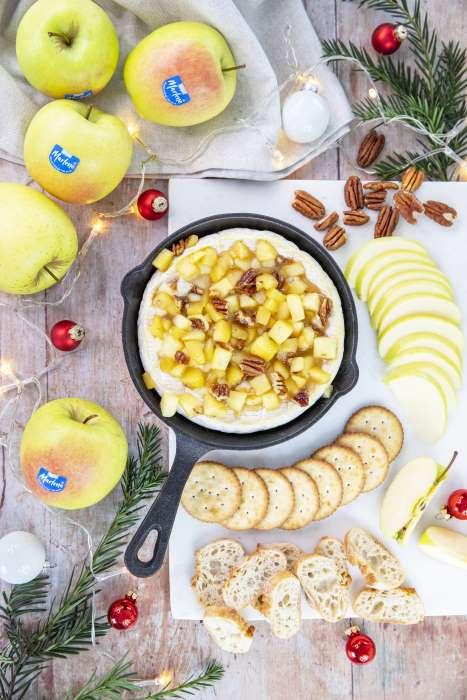 marlene receta brie manzanas