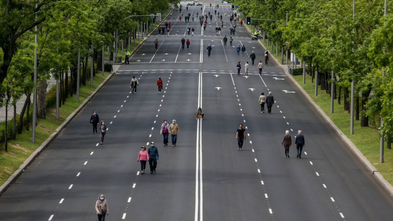 calles peatonales madrid