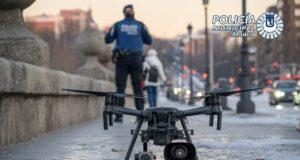 policía madrid drones dispositivo medidas restricciones
