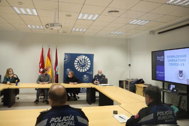 dispositivo policial restricciones madrid