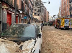 explosión edificio calle Toledo