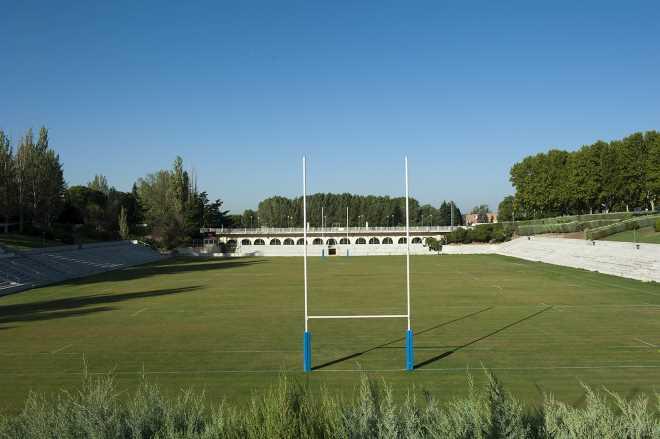 Sede del torneo internacional de rugby en Madrid