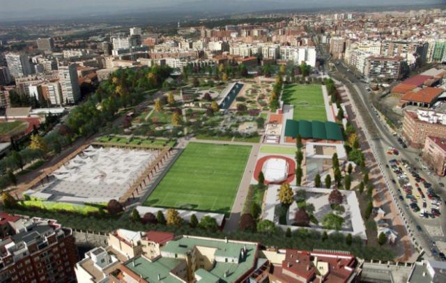 Nuevo parque Canal Isabel II