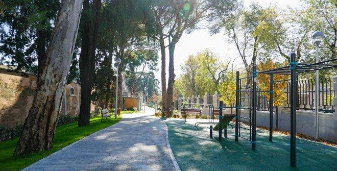 Parque Bravo Murillo de Canal Isabel II